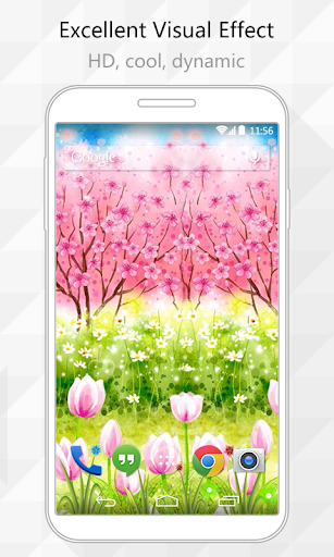 Ideal Garden Live Wallpaper