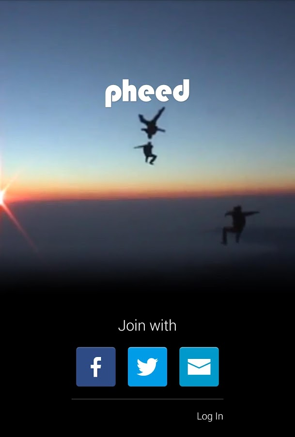 Pheed- screenshot