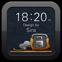 Sira GO Locker Theme icon