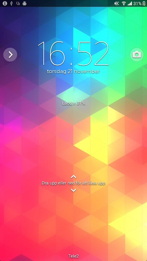 XPERIA™ Triflat Theme- screenshot