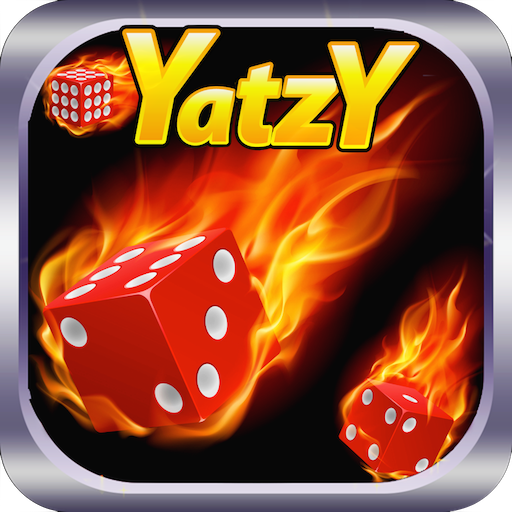 Yatzy Hot Dice Fire Game LOGO-APP點子