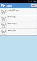 Screenshot of Manish Messenger