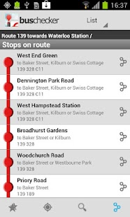 UK Bus Checker Lite - Free - screenshot thumbnail