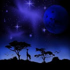 Imaginary Africa-Blue.LWP! icon