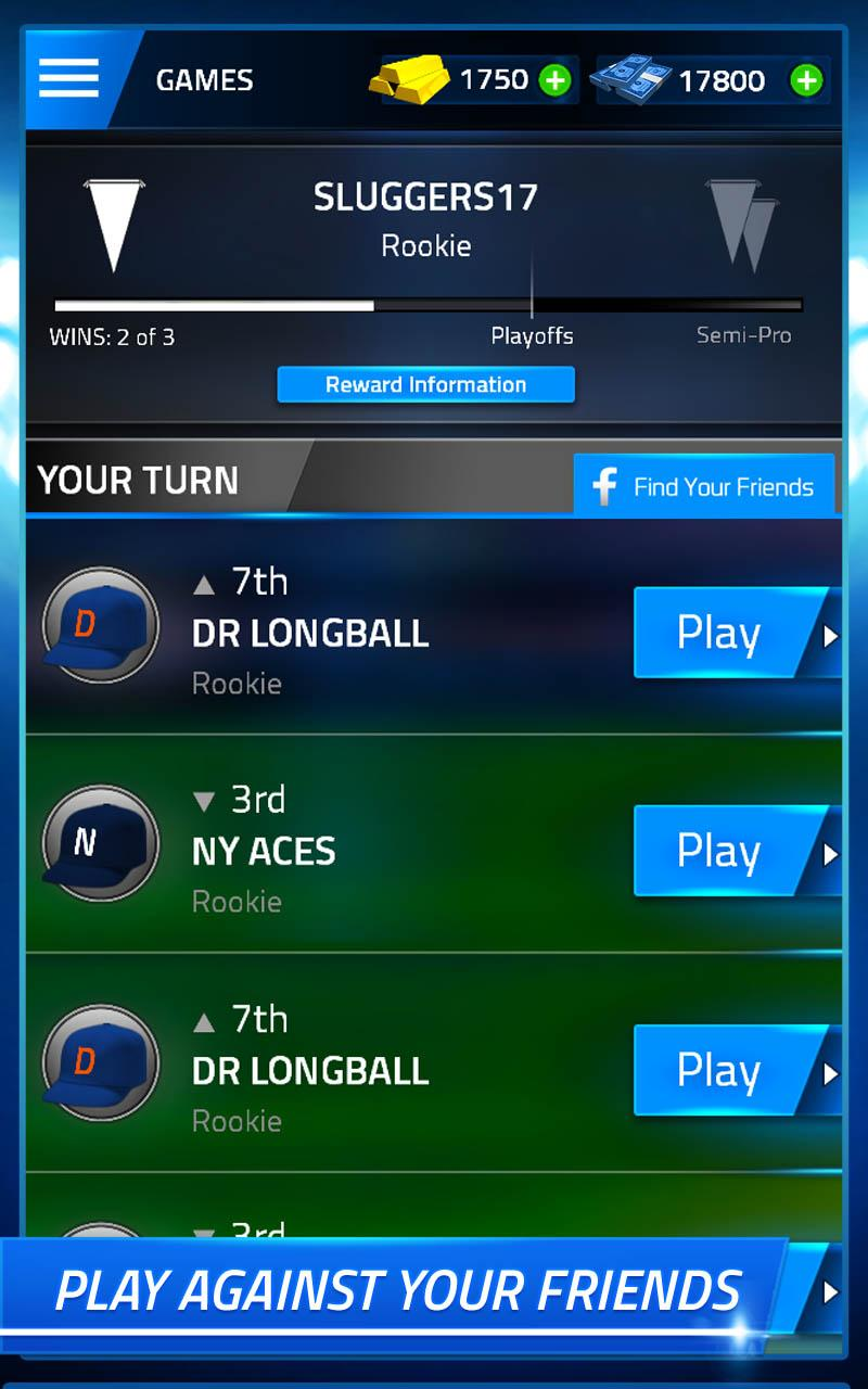 TAP SPORTS BASEBALL screenshot #3