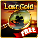 Hidden Object - Lost Gold FREE icon