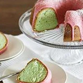 Pistachio-Cherry Bundt Cake
