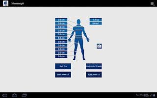 Screenshot of SilverWeight - Body Diary