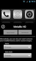 Screenshot of Metallic HD - ADW LPP theme
