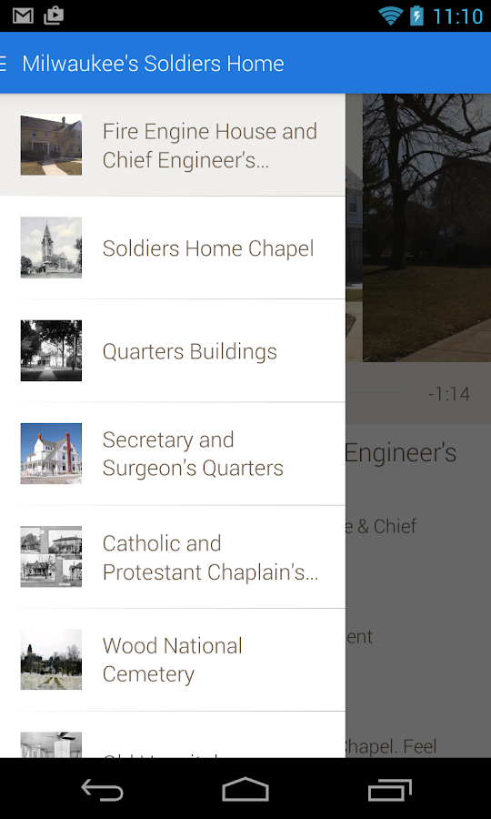 Milwaukee's Soldiers Home- screenshot