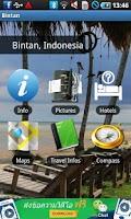 Screenshot of Bintan Riau Travel Guide