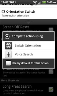 Orientation Control- screenshot thumbnail