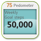 75 Pedometer step counter