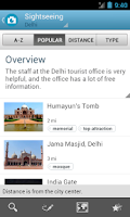 Screenshot of India Travel Guide by Triposo
