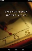 Screenshot of Twenty-Four Hours a Day