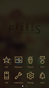 Four Jokers GO Launcher Theme v1.0