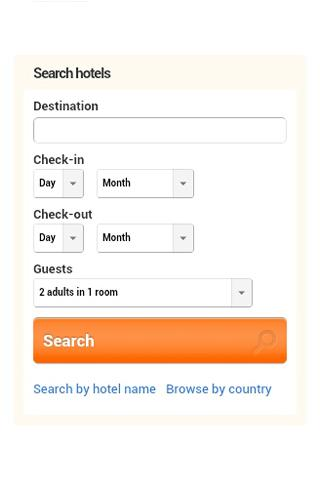 Hotel Finder - by Amazebuy- screenshot