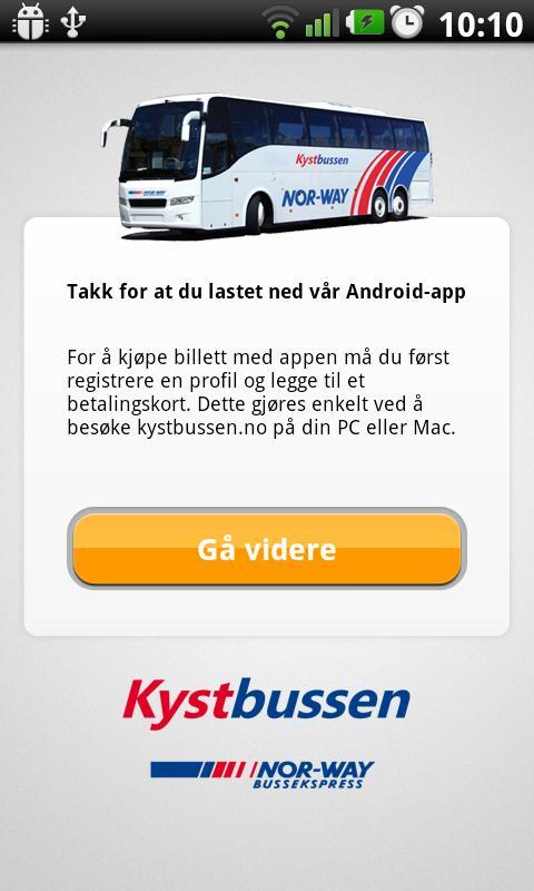 Kystbussen- screenshot