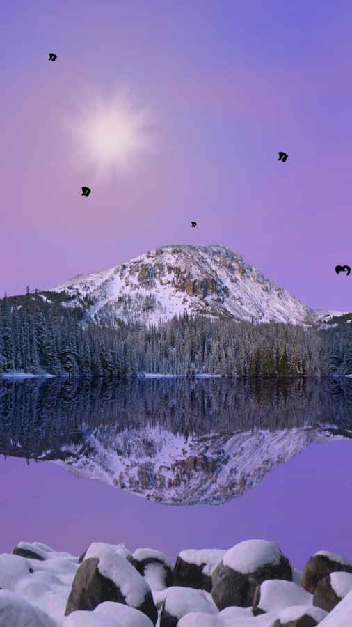 Mountain Lake Live Wallpaper- screenshot