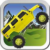 Monster truck hill racer