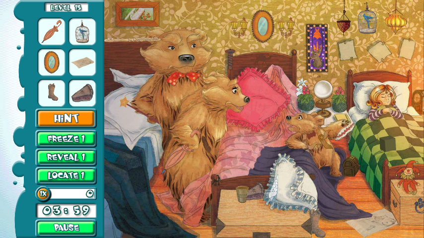 Hidden Object Game: Goldilocks - Android Apps on Google Play