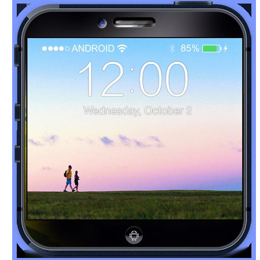 鎖定屏幕:寂靜之聲 個人化 App LOGO-APP試玩