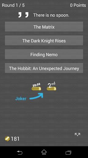 Unlimited Movie Quiz 2.6.1 screenshots 1