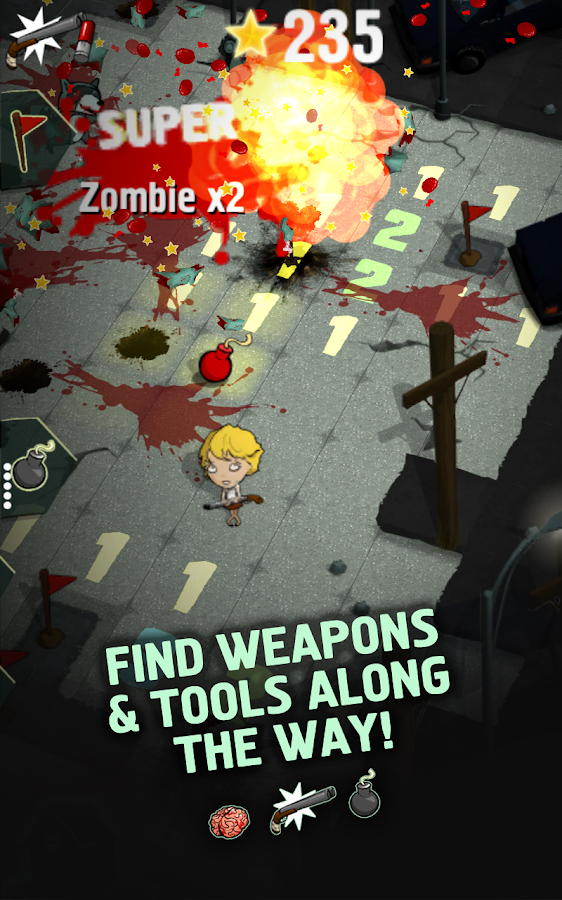 Zombie Minesweeper- screenshot