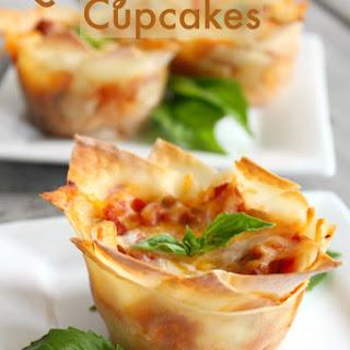 Lasagna Cupcakes.