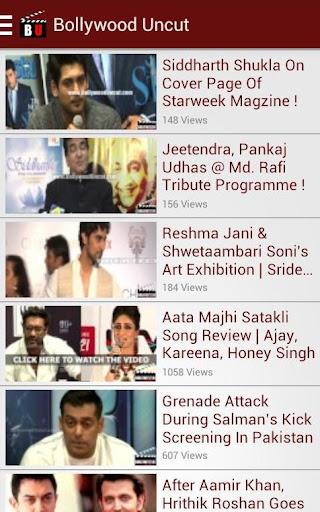 Bollywood Uncut