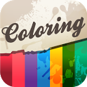 HD Digital Coloring Sheets icon