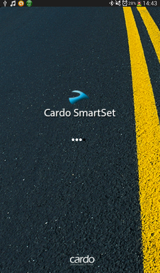 Cardo SmartSet - screenshot