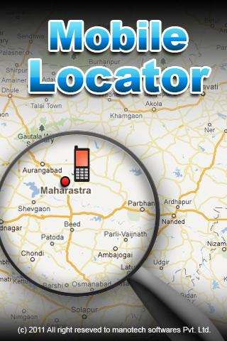 Mobile Locator - screenshot