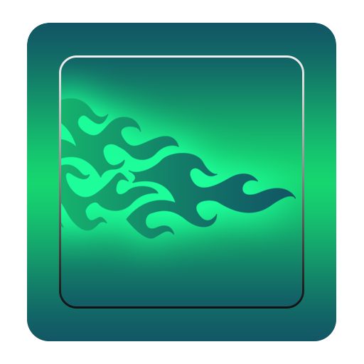 GO輸入法綠色火焰 個人化 App LOGO-APP試玩