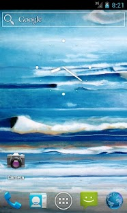 Oceans in Oil Live Wallpaper