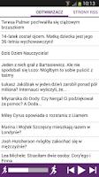 Screenshot of Plotki Sensacje Komentarze
