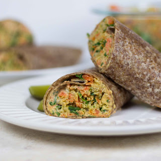 Economical Copycat Veggie Wrap