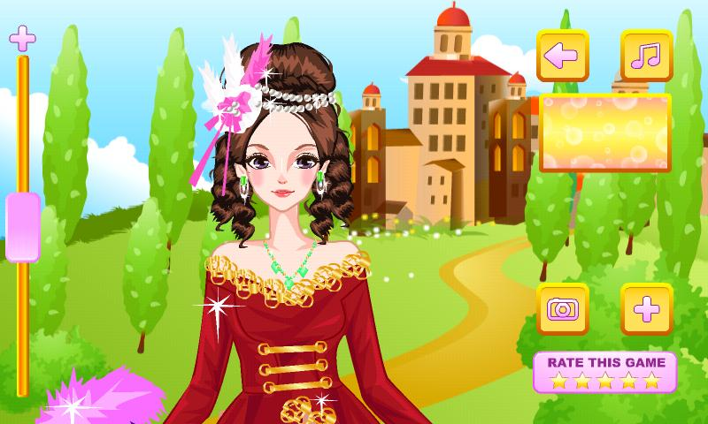 Medieval Gowns Dress Up - screenshot