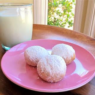 Rena Carasso's Kourabiedes - Greek Butter Cookies.