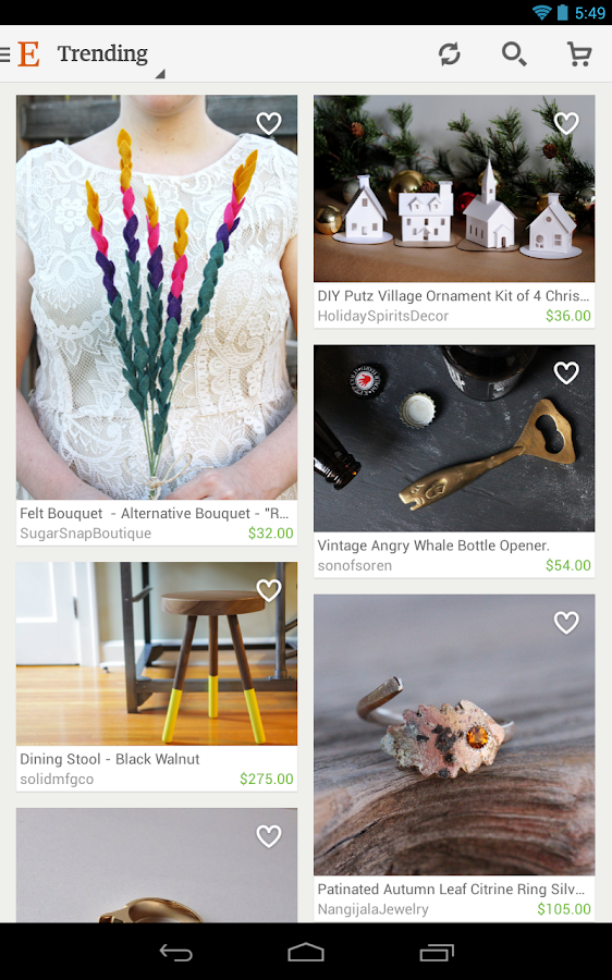 Etsy: Handmade & Vintage Goods - screenshot