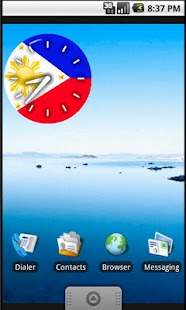 Pinoy Clock Widget free- screenshot thumbnail