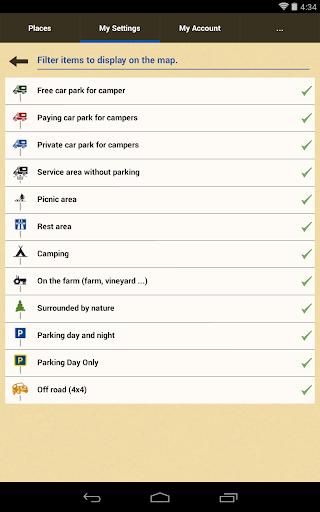 park4night - Motorhome camper 5.3.2 screenshots 17