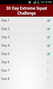 30 Day Extreme Squat Challenge Apps Bei Google Play