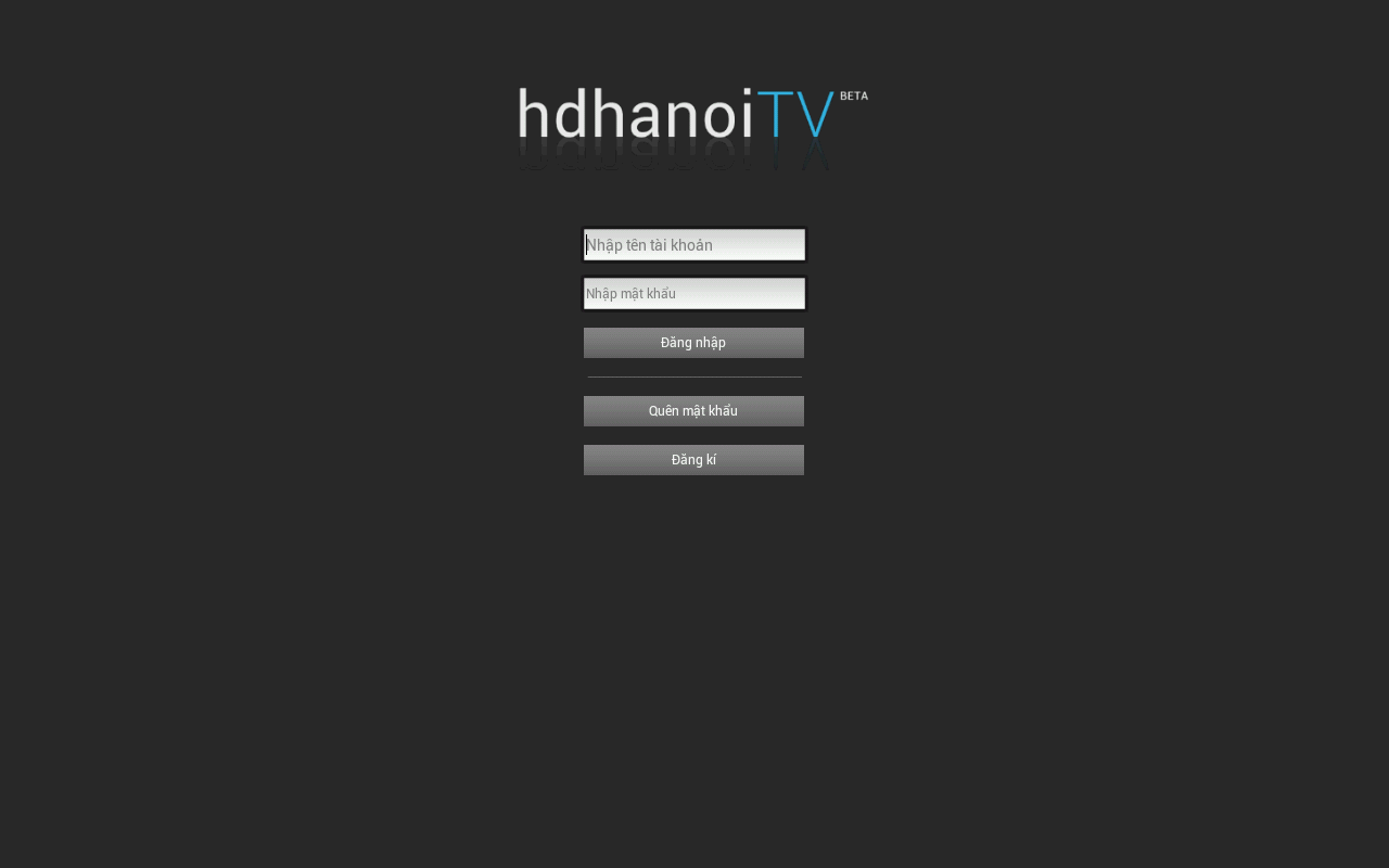 HDHanoi HDPlayer - screenshot