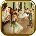 Famous Artists: Edgar Degas icon