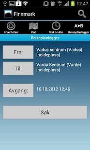 Reiseplanlegger 177 Finnmark - screenshot thumbnail