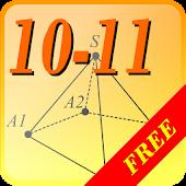 Geometry 10-11. Cheat sheet.