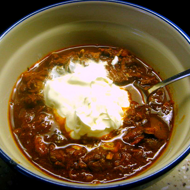Caveman Chili and the Garden of Eating Recipe