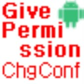 Give Permission CHANGE_CONFIG