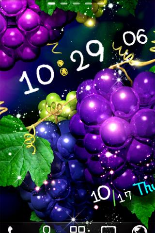 Grape Live Wallpaper.Trial